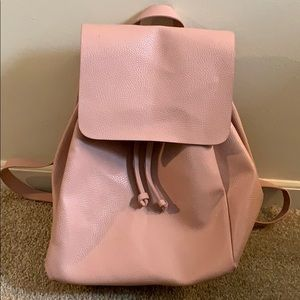 Zara blush pink backpack